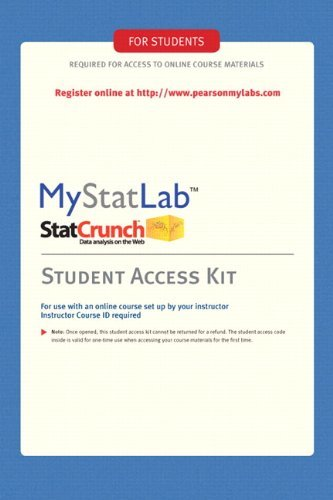 mystatlab homework answer key