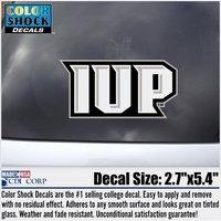 Decal, Outside Application, IUP Monogram