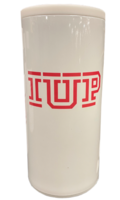 Can Cooler, Slim Style, Stainless, IUP Logo