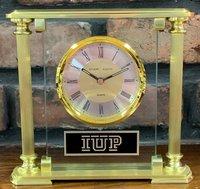 Clock, Mantle Style, IUP Logo