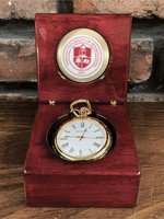 Watch, Pocket Style with Box, IUP Seal