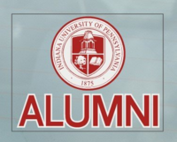 Decal, Outside Application, Alumni, IUP Seal