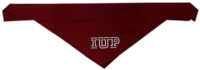 """SMALL PET BANDANA CRIMSON WITH IUP - FITS UP TO 22"""""""