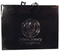 Gift Bag, Medium, Black with IUP Seal