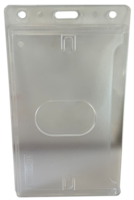 VERTICAL CLEAR ID HOLDER