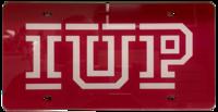 License Plate, IUP Logo