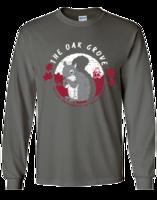 Long Sleeve T-Shirt, Oak Grove, Squirrel & IUP Full Name