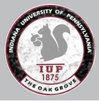 Sticker, Dizzler, Oak Grove, Circle Design IUP Full Name