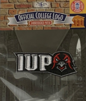 Patch, Embroidered IUP Hawk Head Logo