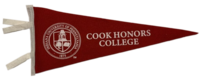 Pennant, Cook Honors College