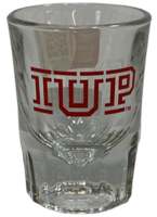 Shot Glass, IUP Logo