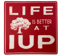 Sticker, Life is Better at IUP