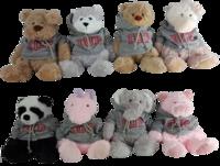 Stuffed Animal, Cuddle Buddy, Hoodie/IUP Logo