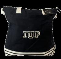 Canvas Tote, IUP Logo, Black
