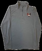 Quarter Zip, Full Hawk Logo, by Nike