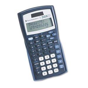 TI 30XIIS Scientific Calculator, Solar/Battery
