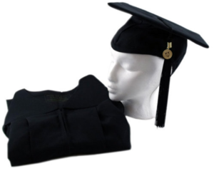 Masters Cap, Gown, and Tassel