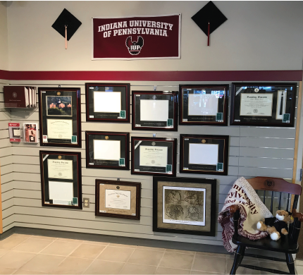 Looking For A Gorgeous Diploma Frame To Display Your Hard Earned Iup